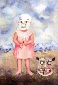 Menina com máscara de morte, Frida Kahlo, 1938