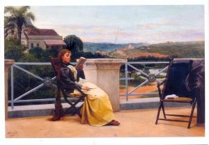 Leitura, Almeida Junior, 1899