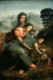 a virgem santana e o menino