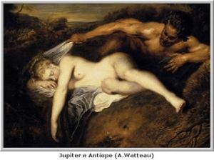 Zeus e Antiope