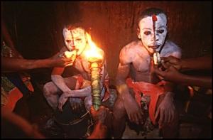 rituals bosquimanos